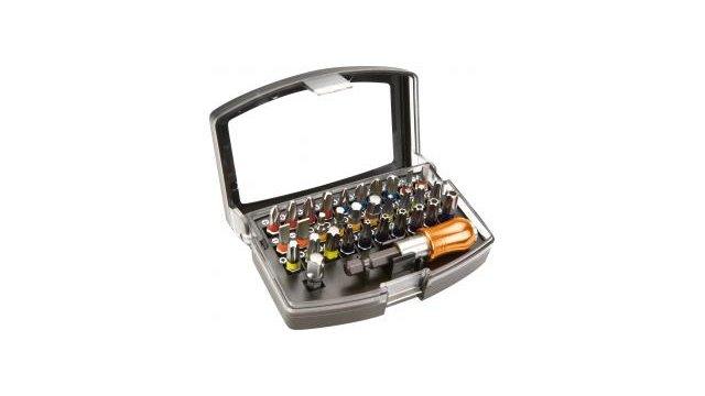 Neo Tools Neo Tools Bitset 32-delig op Kleur, S2 Carbon Steel