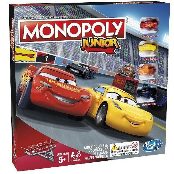 Hasbro Hasbro Monopoly Junior Cars 3