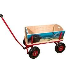 Diversen Wooden Bolderwagen