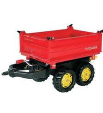 Rolly Toys Rolly Toys 123001 RollyMega Trailer Rood