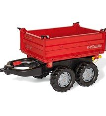 Rolly Toys Rolly Toys 123018 RollyMega Trailer Rood