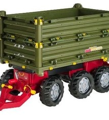 Rolly Toys Rolly Toys 125012 RollyMulti Trailer 3-assig