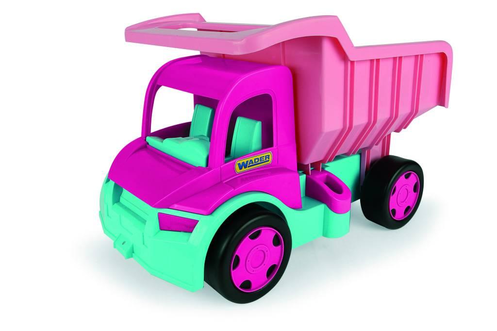 Wader Wader Gigant Kiepwagen Roze