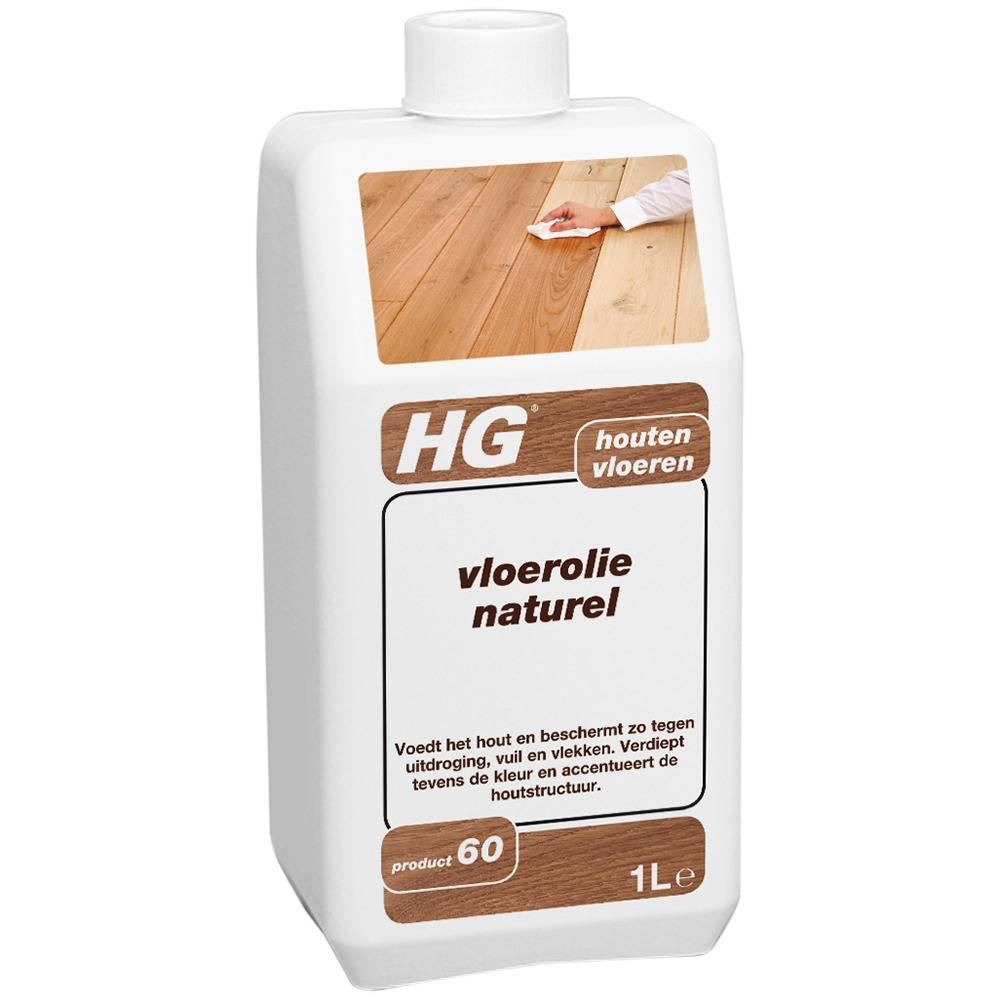 HG HG Vloerolie Naturel 1L