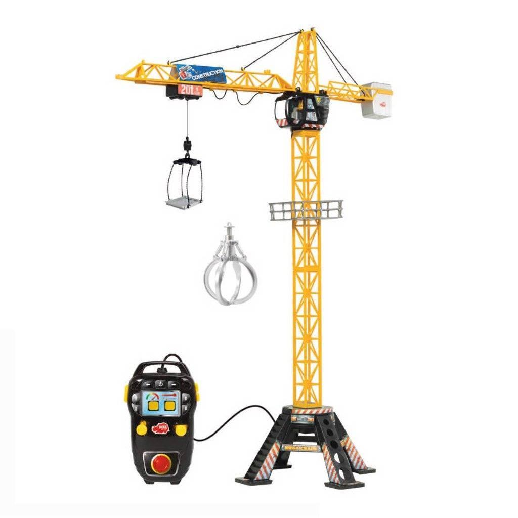 Dickie Toys Dickie Toys Mega Kraan met Kabelbesturing 120 cm