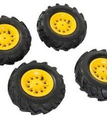 Rolly Toys Rolly Toys 409303 Set van 4 Luchtbanden voor RollyFarmtrac Premium Tractoren