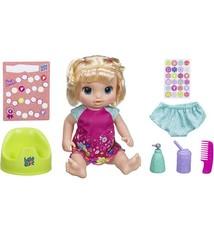 Hasbro Hasbro Baby Alive Plas en Dans Baby Blond met Geluid en Accessoires