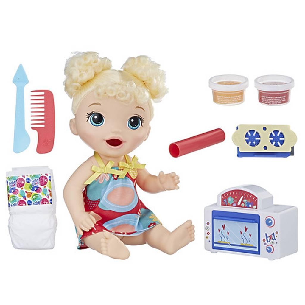 Hasbro Baby Alive Snack- en Snoepbaby met Accessoires