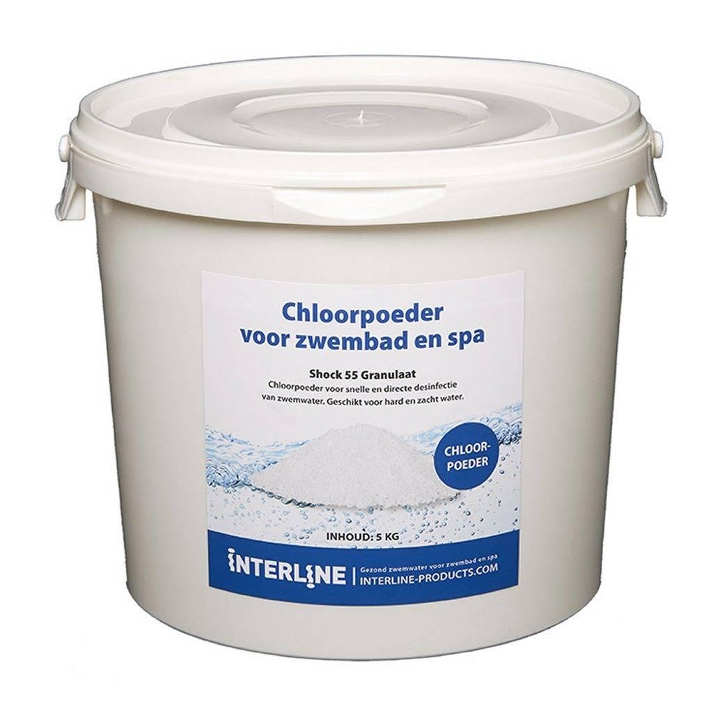 Interline Interline Shock 55 Chloorgranulaat 5 kg