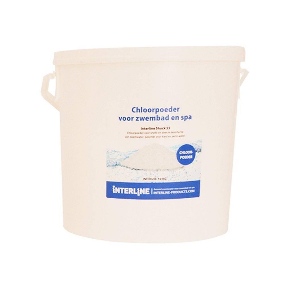 Interline Interline Chloorgranulaat/Chloorpoeder 10 kg