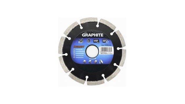 Graphite Graphite 57H610 Diamantschijf 230x22x8,0x2,5mm, Segment, Gelaserd, MPA EN13236