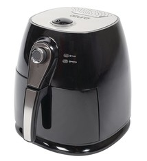 Azura Azura AZ-AF10 Hot Air Fryer 3L 1400W Zwart/Zilver
