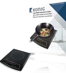 König König HA-INDUC-11N 1-Zone Design Inductiekookplaat 2000W