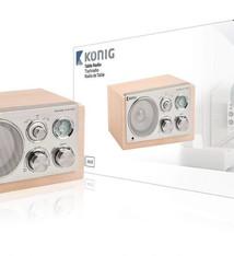 König König HAV-TR1300 Retro Radio Retro