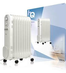HQ HQ OR09 Mobiele Radiator Oliegevuld 9 Ribben 2000W
