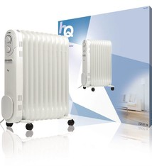 HQ HQ OR11 Mobiele Radiator Oliegevuld 11 Ribben 2200W