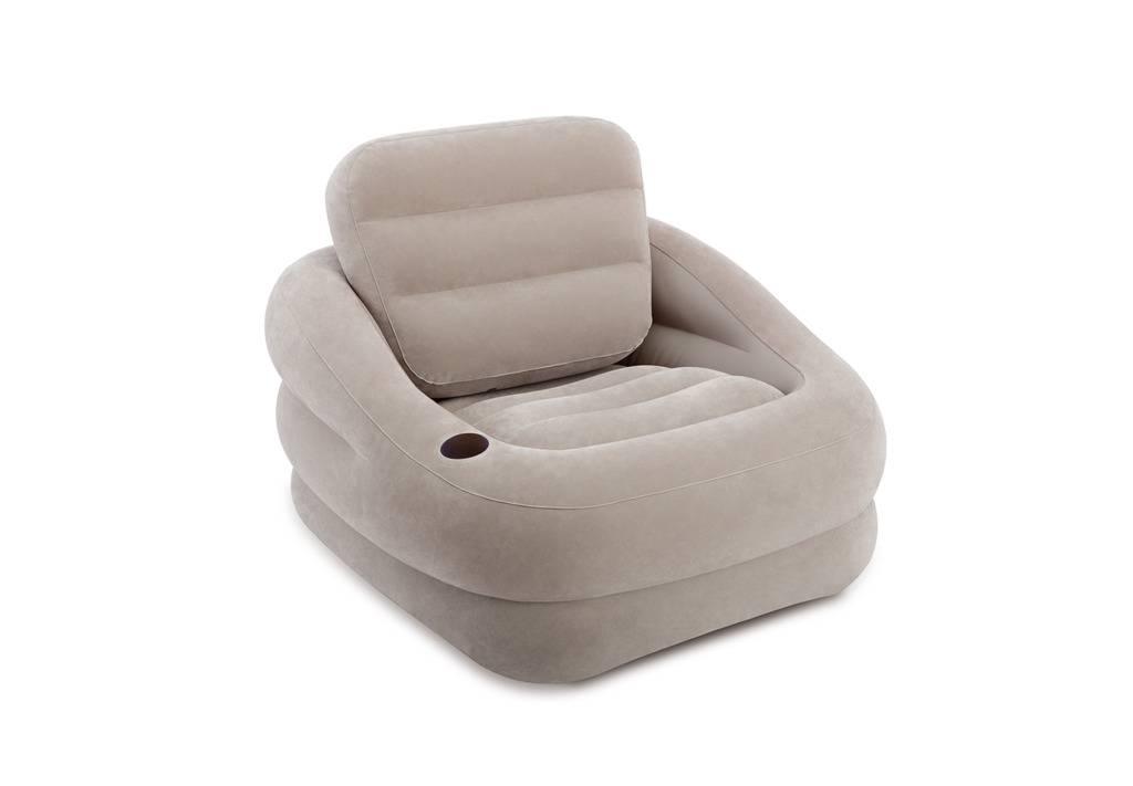 Opblaasbare Lounge Stoel.Intex 68587np Opblaasbare Loungestoel 97x107x71cm