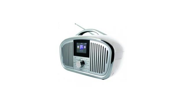 Sound Master Soundmaster iR4000WE DAB+, FM en Internetradio Wit