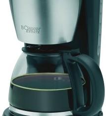 Bomann Bomann KA1369CB Estate Koffiezetapparaat Zwart/RVS