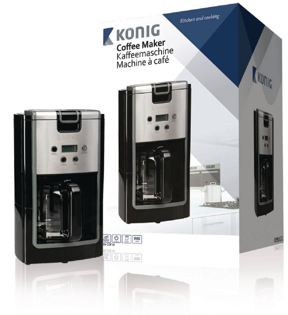 König König KN-COF10 Koffiezetapparaat met Timer