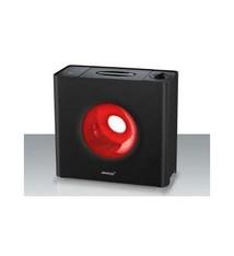 Steba Steba LB6 Cube Luchtbevochtiger 25m2 Zwart/Rood