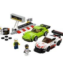 Lego Lego Speed Champions 75888 Porsche 911 RSR En 911 Turbo 3.0