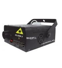 Ibiza Ibiza LSM500LAS 2in1 500w Rookmaschine Met Ingebouwde Roodgroene 130mw Laser