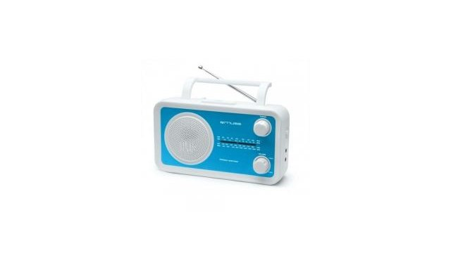 Muse Muse M-05BL Portable Radio Wit/Blauw