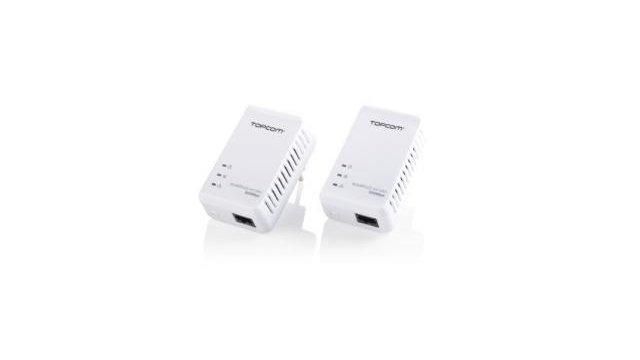 Topcom Topcom NS6700 Ethernet Kit  Powerlan 7420 Mini 2,5 W