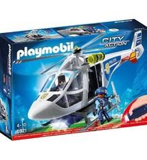 Playmobil Playmobil 6921 Politiehelikopter met LED-zoeklicht