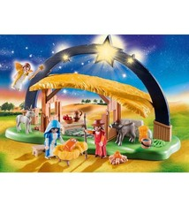 Playmobil Playmobil 9494 Kerststal + Heldere Ster met Licht