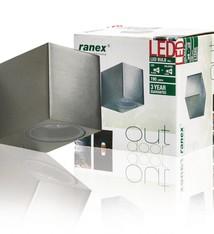 Ranex Ranex Ra-5000464 Smd Led Wandlamp voor Buiten Mika (5000.464)