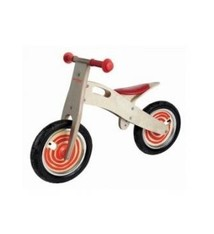 Simply for Kids Simply for Kids Houten Loopfiets Rood