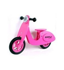 Simply for Kids Simply for Kids 22029 Houten Loopscooter Roze