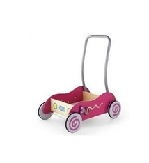 Simply for Kids Simply for Kids 598531 Houten Baby Duwwagen Roze
