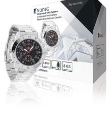 König König SAS-DVRWW10 Horloge Met Geïntegreerde Camera