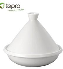 Tepro Tepro 8340 Geglazuurde Tajine Wit 35 cm