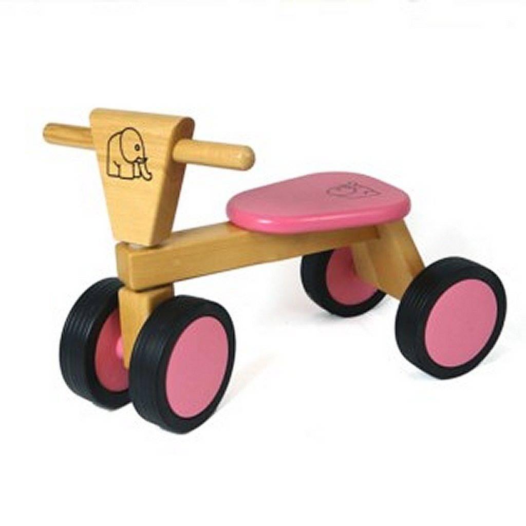Van Bueren Van Bueren 66203 Houten Trike Roze