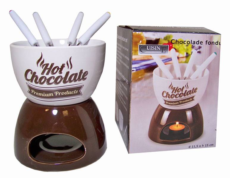 Cuisine Performance Chocolade Fondueset Hot Chocolate