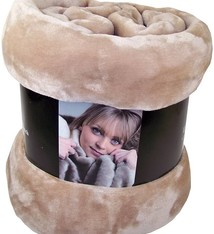 Fashion Zone Fleecedeken Cashmere Touch - 200x150cm - camel