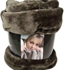 Fashion Zone Fleecedeken Cashmere Touch - 200x150cm - bruin
