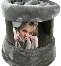 Fashion Zone Fleecedeken Cashmere Touch - 200x150cm - grijs