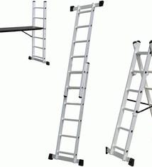WorkMen Ladder 3-in1 - Ladder - Vouwladder - Steiger