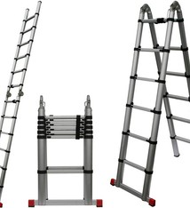 WorkMen Telescopische ladder 3.85m
