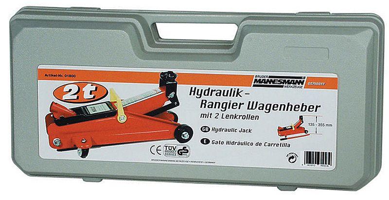 Bruder Mannesmann Brüder Mannesmann  Verrijdbare hydraulische krik (2000 kg)