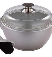 Bergner Pan met deksel (28x13,5cm)