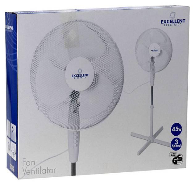 Excellent Electrics Staande ventilator - 40cm - 45W
