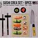 Cuisine Performance Sushi Crea set - 8 delig