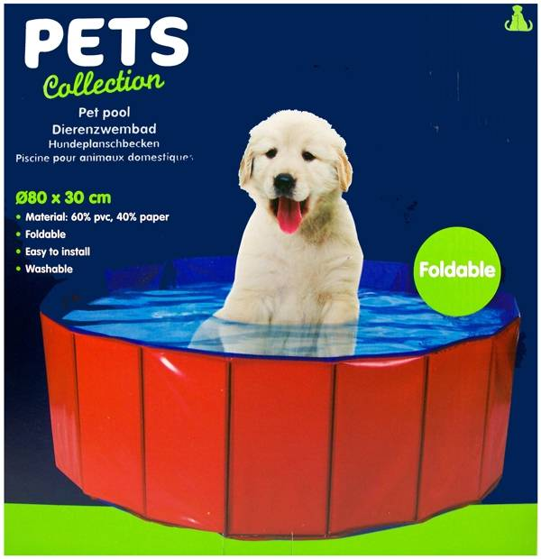 Pets Collection Dierenzwembad Ø80x30cm