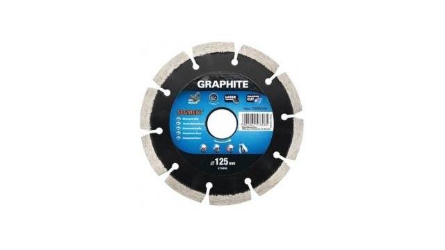 Graphite Graphite 57H869 Diamantschijf 200x22x8,0x2,4mm, Segment, Gelaserd, MPA EN13236